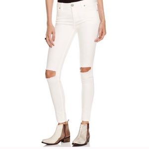 NWT Free people ankle ripped jean sz31